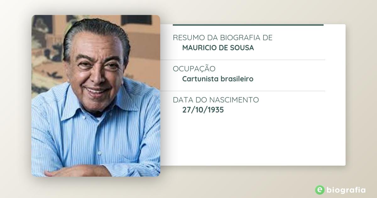 Biografia De Mauricio De Sousa Ebiografia