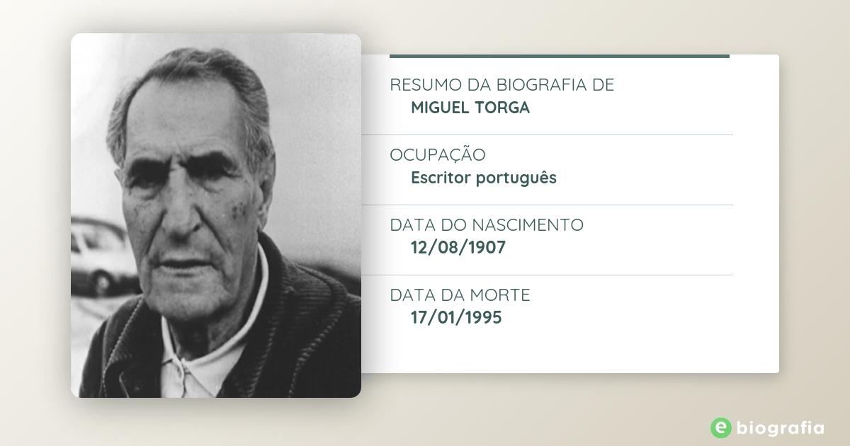 Biografia de Miguel Torga - eBiografia