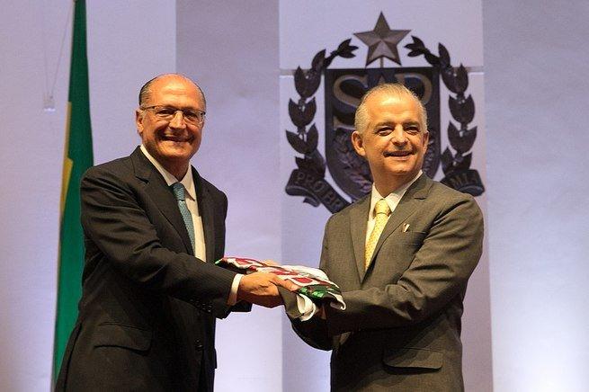 Márcio França e Geraldo Alckmin