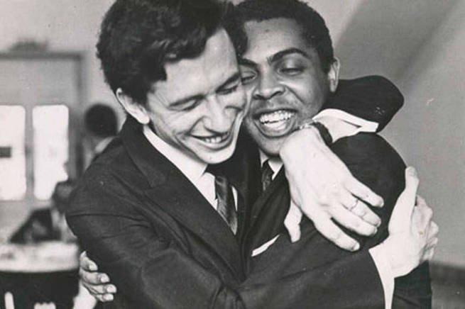 Torquato Neto e Gilberto Gil
