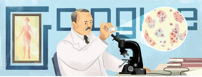 Doodle em homenagem ao Dr.Georgios Papanikolaou
