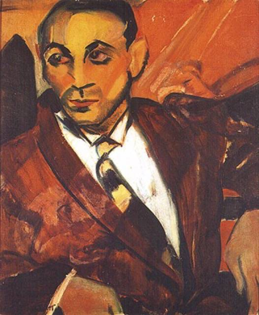 Quadro O homem amarelo (1917)