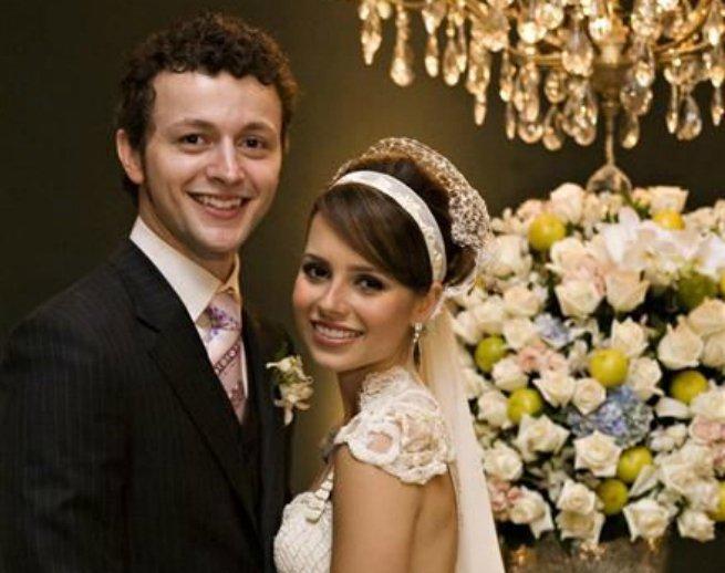 Sandy e o marido Lucas Lima