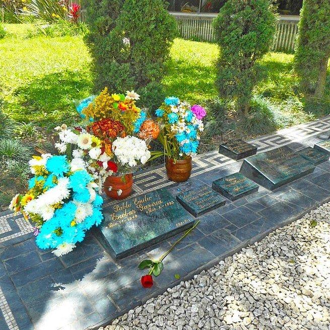 túmulo Pablo Escobar