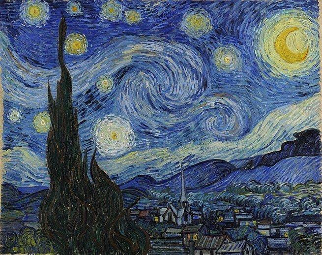 Quadro A noite estrelada (1889)