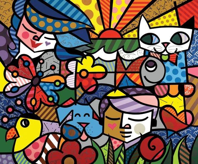 Quadro Britto Garden (2000)