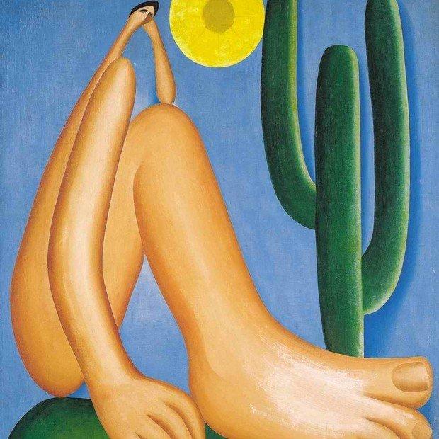 Quadro Abaporu (1928)