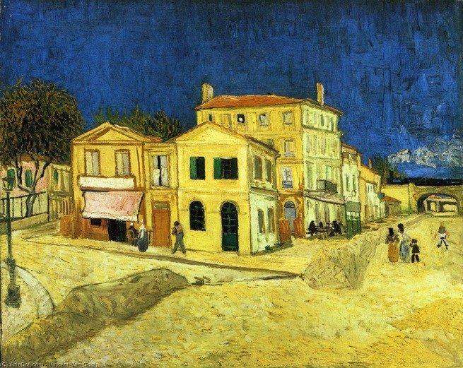 A casa amarela, de Van Gogh