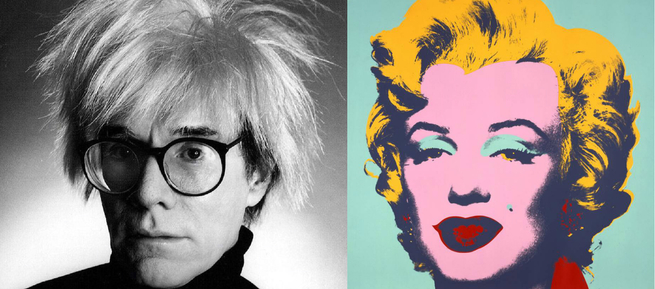 Andy Warhol e Untitled from Marilyn Monroe