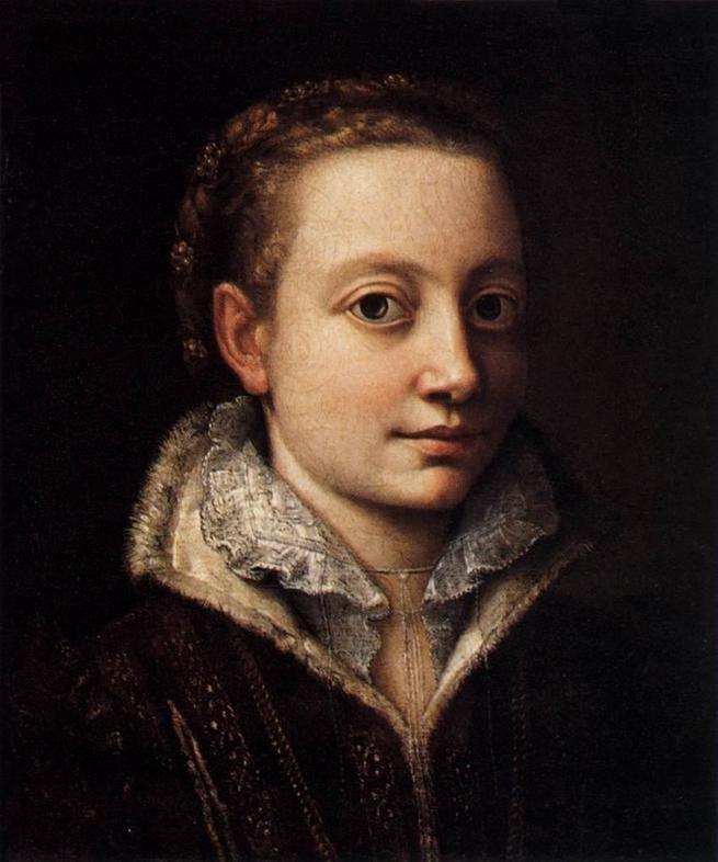 retrato de Sofonisba Anguissola