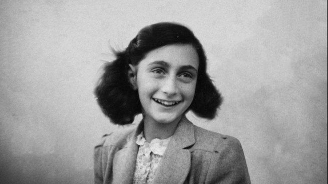 retrato de Anne Frank