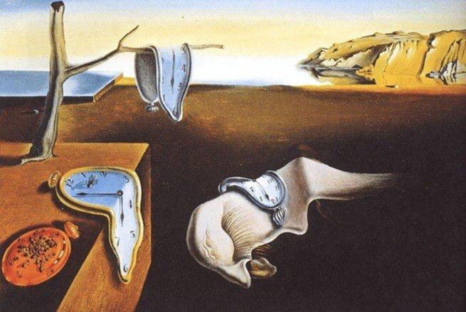 A persistência da memória, de Salvador Dali (1904-1989)