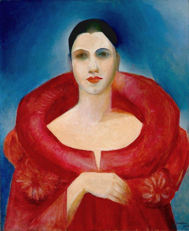 Autorretrato ou Le Manteau Rouge