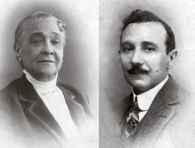 Foto de Chiquinha e João Batista
