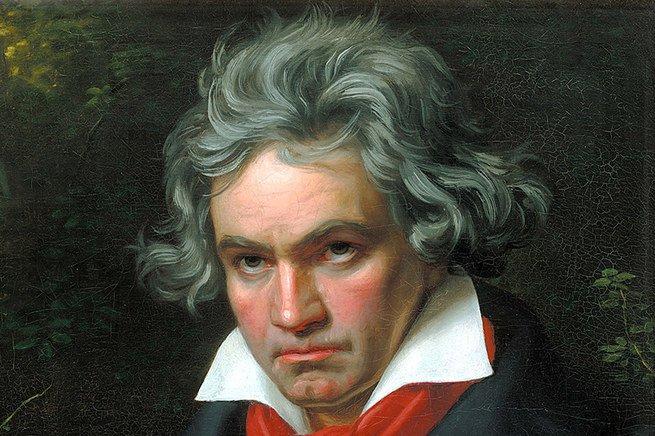retrato de Beethoven