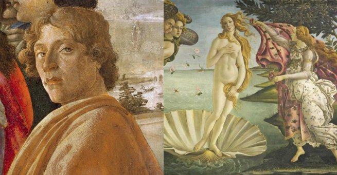 Botticelli e O nascimento de Vênus