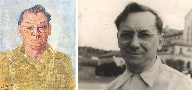 retrato de Candido Portinari