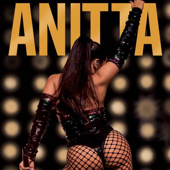 Capa do livro Furacão Anitta, a biografia não autorizada da cantora publicada pelo jornalista Leo Dias.