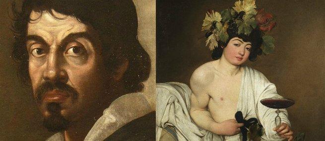 Caravaggio e Baco