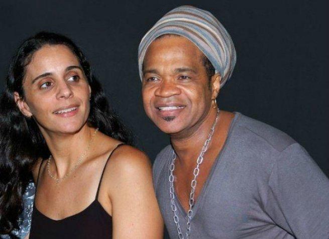 Carlinhos Brown e Helena Buarque de Holanda