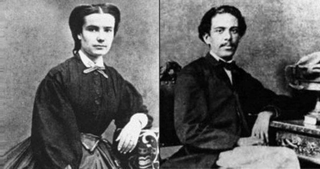 Carolina e Machado foram casados durante 35 anos