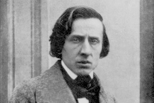 retrato de Chopin