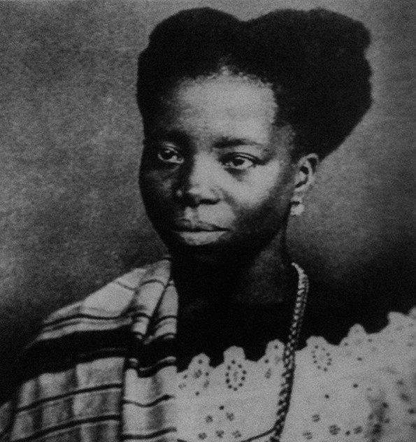 retrato de Tia Ciata