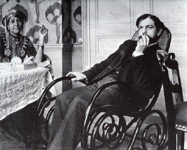 retrato de Debussy