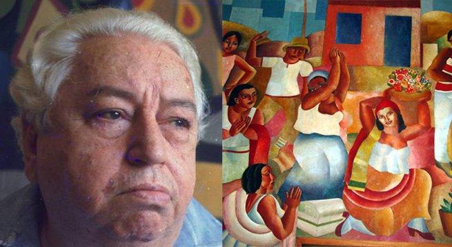 Di Cavalcanti e o quadro O samba