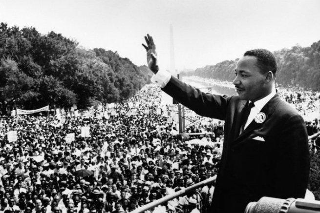 Martin Luther King dedicou a sua vida ao combate à discriminação racial