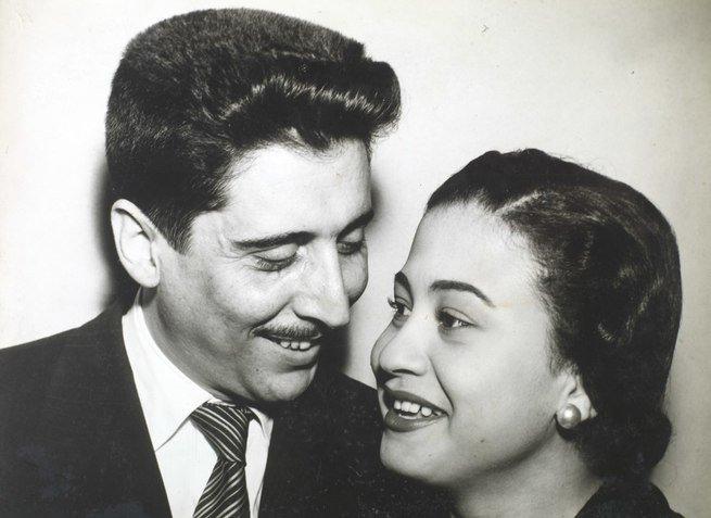 Dolores Duran e o marido Macedo Neto