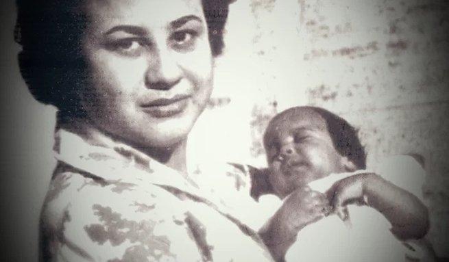 Dolores Duran e a filha Maria Fernanda da Rocha Macedo