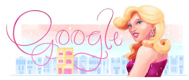 Doodledo Google produzido para homenagear Brenda Lee