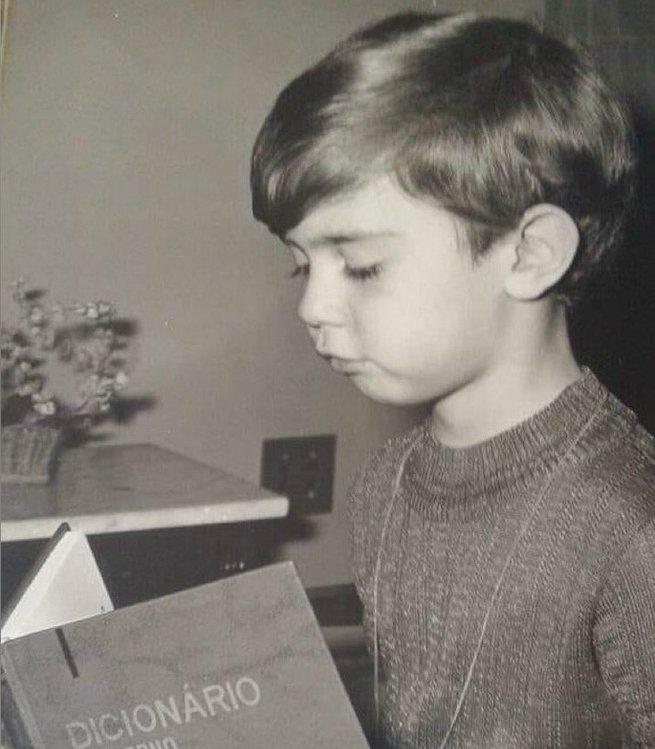 Marcelo Freixo quando era criança