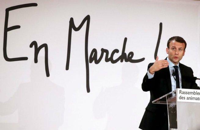 Emmanuel Macron e En marche!