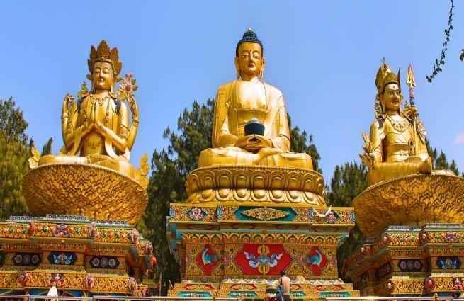 buda - estatuas