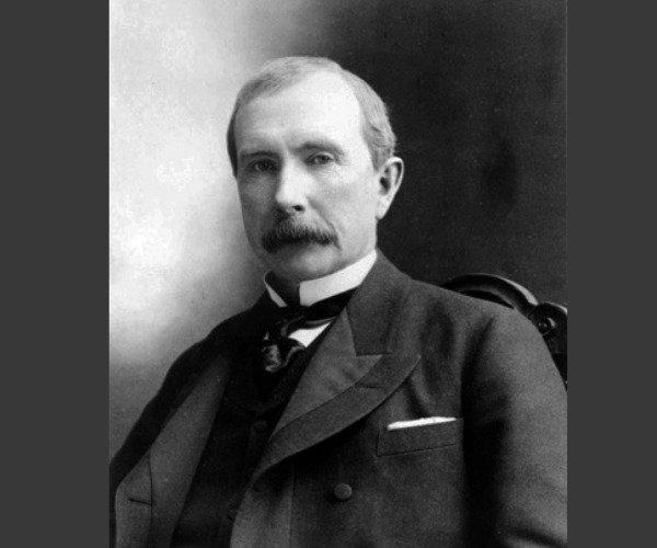 O empresário John D. Rockefeller Sr.