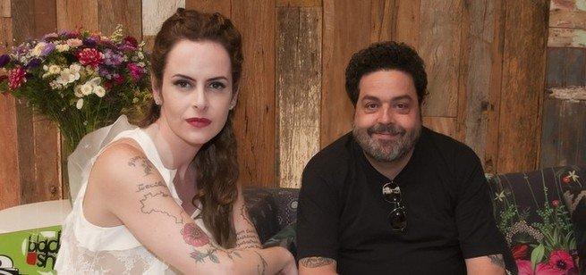 Fernanda Young e Alexandre Machado.