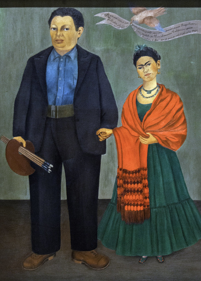 Frida e Diego Rivera, 1931