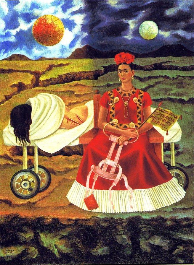 Frida Kahlo . Árvore da esperança