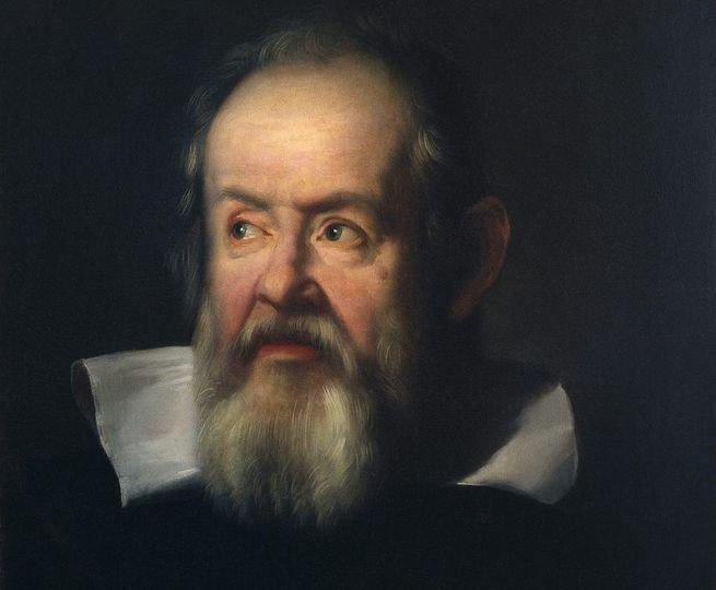 retrato de Gallileo Galilei
