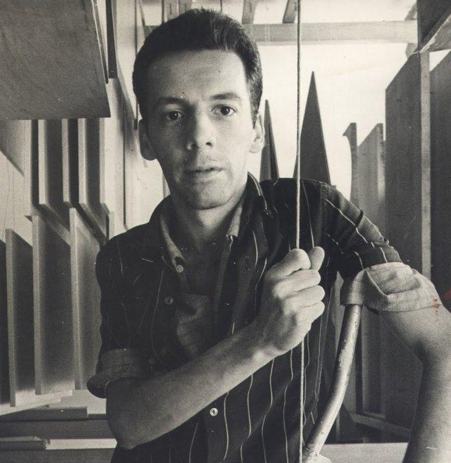 retrato de Hélio Oiticica