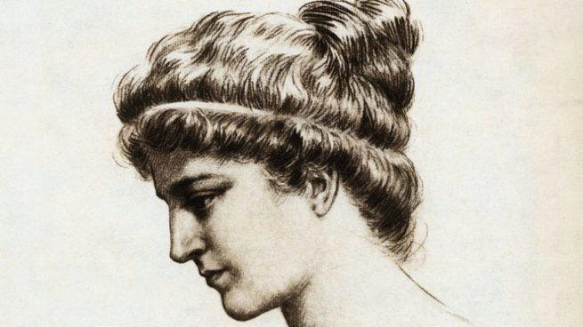 retrato de Hipatia