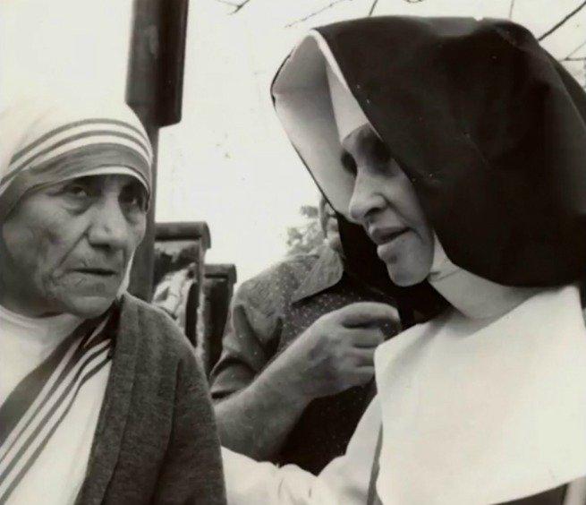Irmã Dulce e Madre Teresa de Calcutá