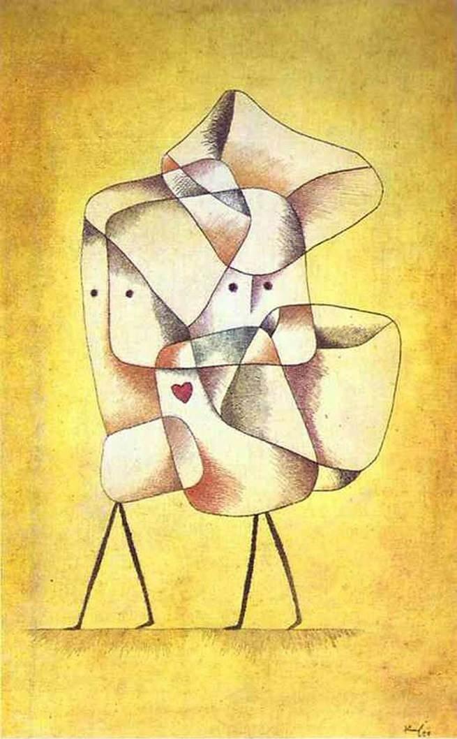 Irmãos, de Paul Klee (1879-1940)