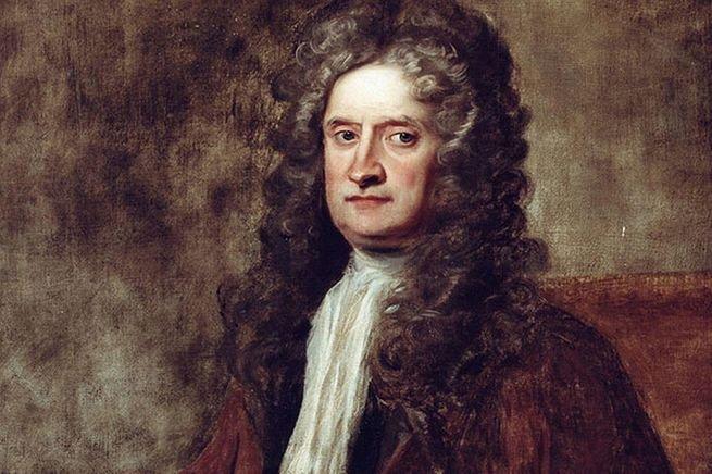Imagem de Isaac Newton