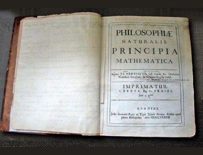 primeira edição de Principia