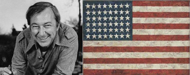 Jasper Johns e Flag