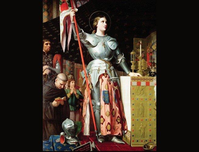 Joana d'Arc na coroação de Carlos VII