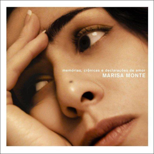 Capa do CD Memórias, crônicas e declaração de amor